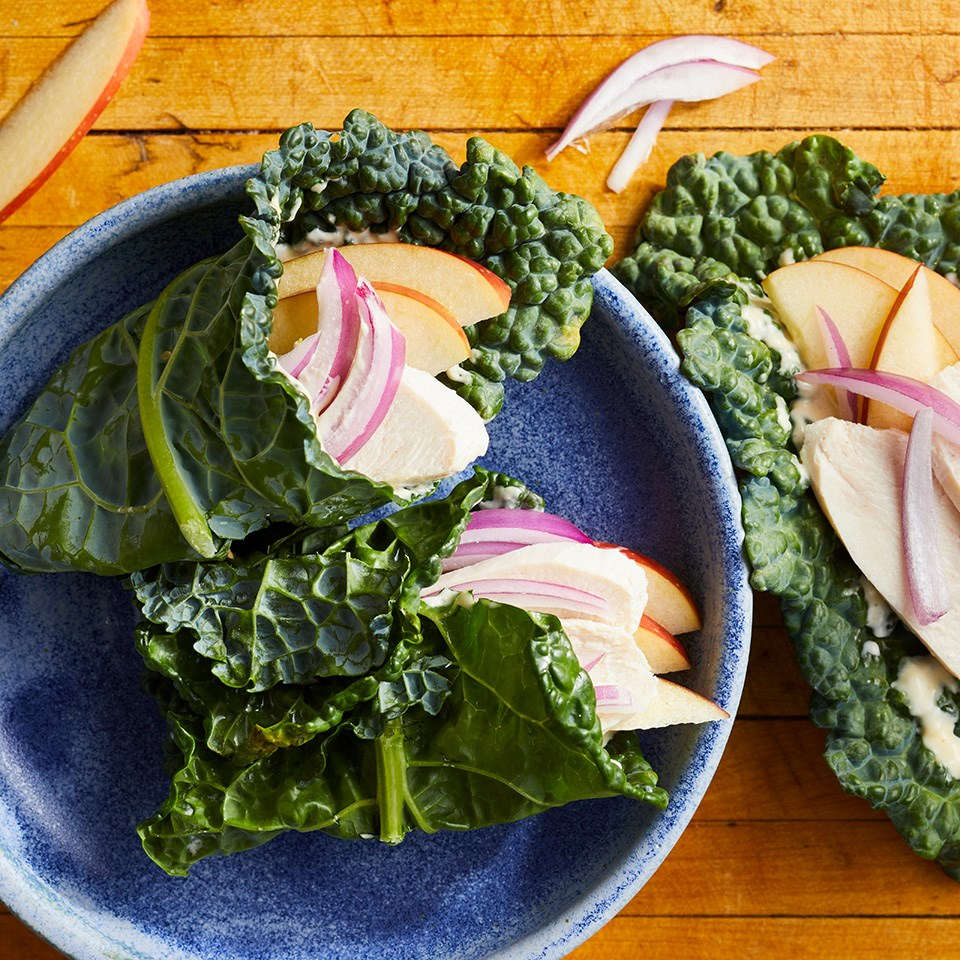 Chicken And Apple Kale Wrap